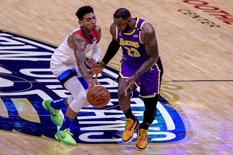NBA: Lakers beat Pelicans, await play-in game 1