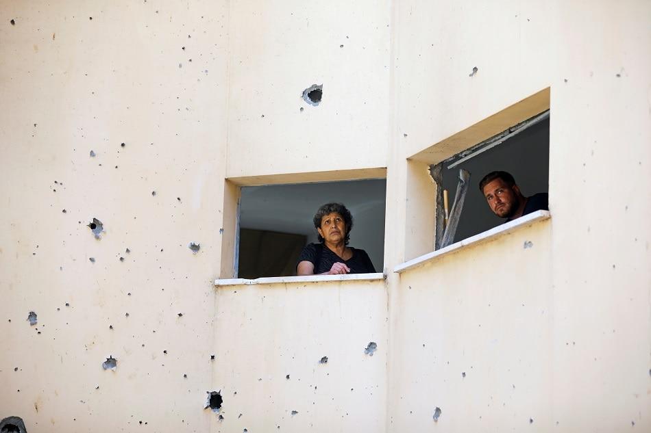 Israel, Gaza militants announce ceasefire 1