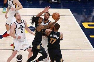 NBA: Grizzlies stun top-seeded Jazz in Game 1