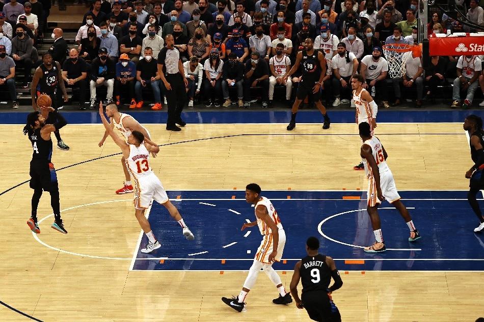 NBA: Derrick Rose, Julius Randle help Knicks even series with Hawks 1