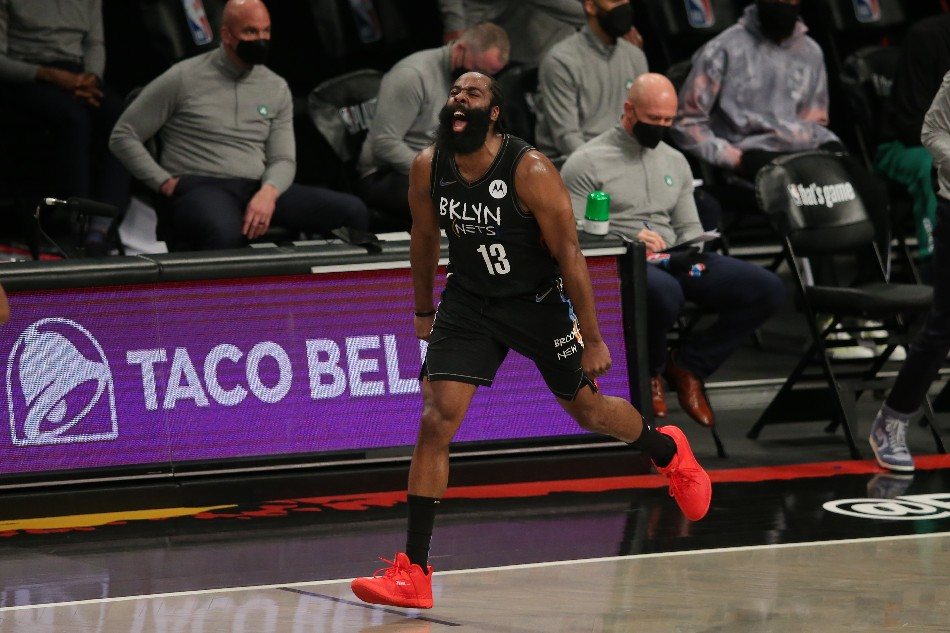 NBA: James Harden's triple-double helps Nets close out Celtics series 1