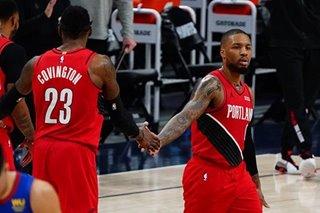 NBA: Blazers' Lillard wins award as teammate of the year
