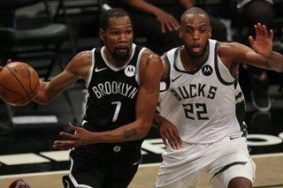 NBA: Nets top Bucks in Game 1 despite James Harden's early injury