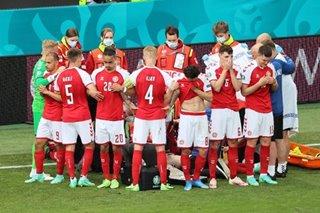 Football: Finland snatch Euro win over Denmark after Eriksen collapse