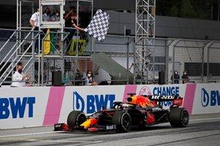 F1: Verstappen cruises in Styria, leaving Hamilton feeling powerless