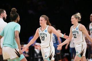 WNBA: Liberty rally to defeat Mystics, Fever snap 12-game slide