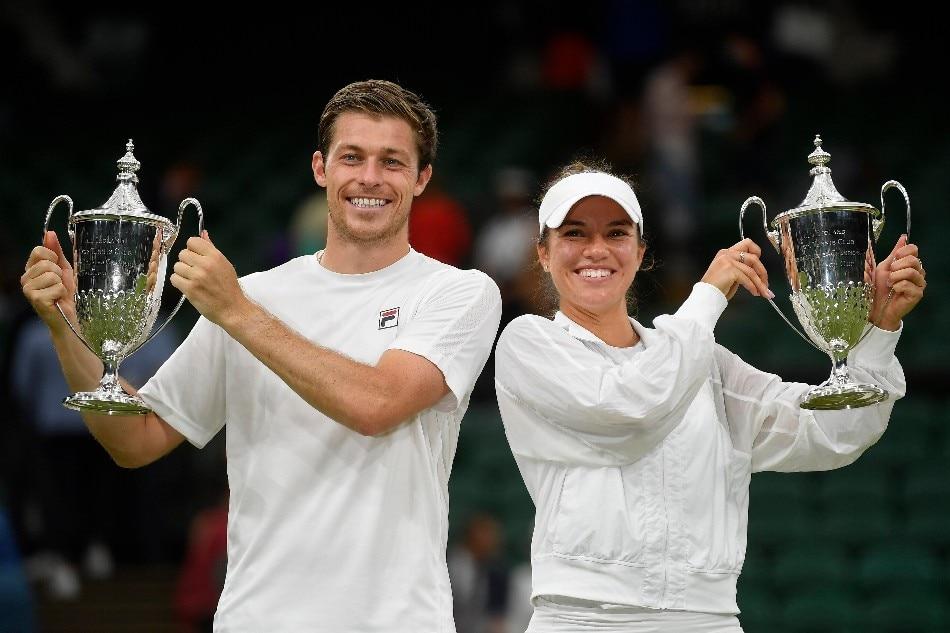 Fil-Am Desirae Krawczyk, Britain's Skupski win Wimbledon mixed doubles 1