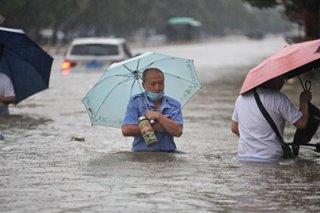 Heavy rains trigger floods, landslides in parts of Philippines