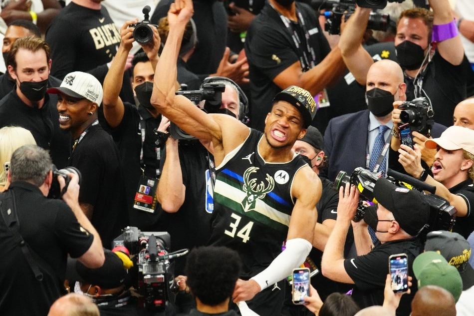 Greeks celebrate Antetokounmpo, Bucks victory in NBA final 1