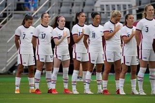 Olympics: Misfiring U.S. reach football quarters, set up Dutch clash