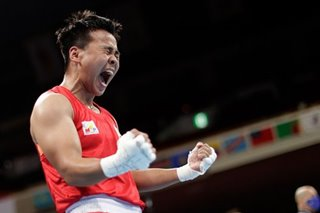 Philippines' Petecio roars to boxing finals after win