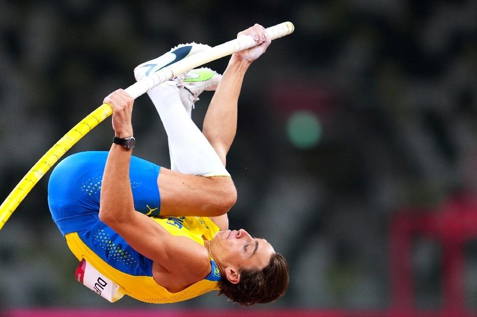 Armand Duplantis of Sweden in action. Aleksandra Szmigiel, Reuters