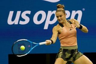 Tennis: Rock-solid Sakkari reaches U.S. Open semi-final