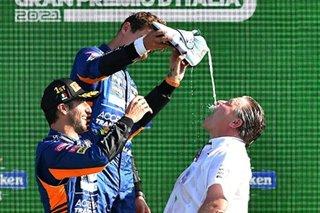 Ricciardo wins at Monza, Verstappen gets grid penalty