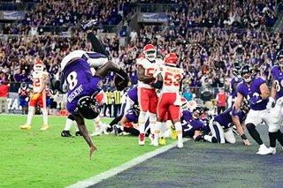 NFL: Ravens' Jackson outduels Mahomes