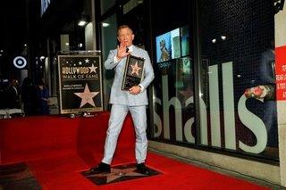 Goodbye Bond, hello Walk of Fame star for Daniel Craig