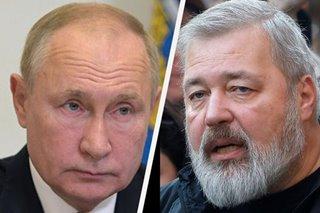 Putin says Nobel no 'shield' for newspaper editor