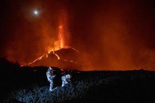 Monitoring Cumbre Vieja's lava flow
