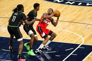 NBA: Beal, Bryant help Wizards beat Wolves for first win