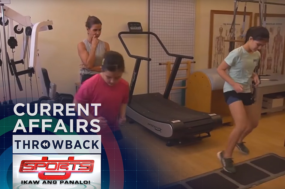 THROWBACK: Kid's workout | Sports U
