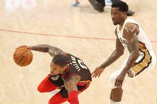NBA: Damian Lillard's 36 points lead Blazers over Pelicans