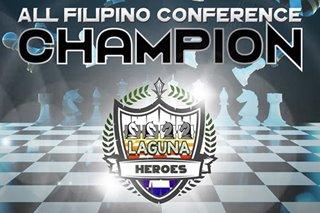 Chess: Laguna takes inaugural PCAP crown