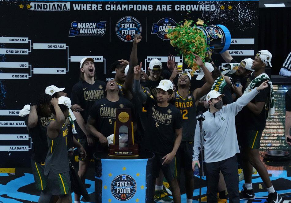 Baylor dominates Gonzaga to win NCAA crown 1