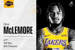 NBA: Lakers sign free agent Ben McLemore, says agent