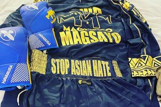 LOOK: Mark 'Magnifico' Magsayo has message vs Asian hate