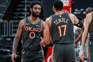 NBA: Balanced-scoring Bulls blitz Hornets