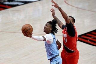 NBA: Ja Morant pours in 33 as Grizzlies edge Blazers