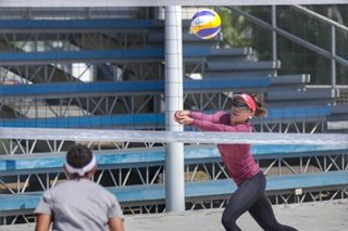 SEA Games medalists banner national beach volley pool