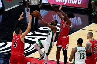NBA: Nikola Vucevic's triple-double propels Bulls past Celtics