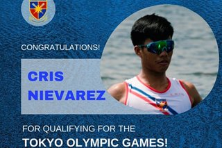 Pinoy rower Cris Nievarez qualifies for Olympics