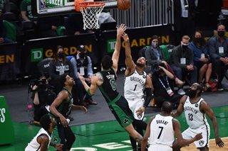NBA: Jayson Tatum tallies 50, Celtics get first win vs. Nets