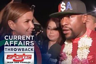 THROWBACK: Mayweather sa Pinas | Sports U