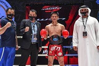 Muay Thai fighter Phillip Delarmino at coach, stranded sa UAE