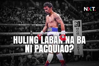 Manny Pacquiao, magreretiro na ba sa boxing?