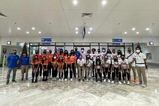 PH teams arrive in Thailand for Asian women's club tilt