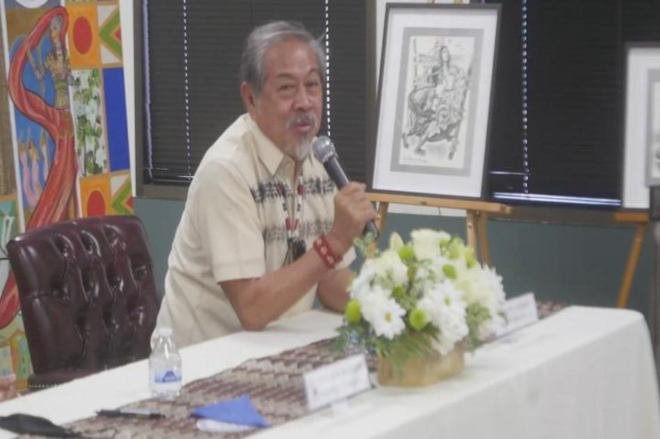 Bayaning si Lapu-Lapu, bida sa isang Art Exhibit sa California 2