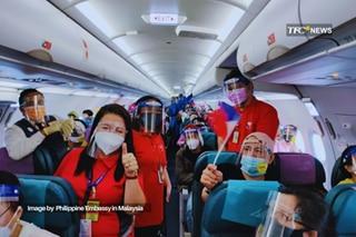 178 Filipinos mula Malaysia, narepatriate na