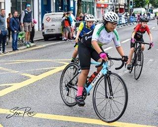 Batang Pinay, panalo sa road bike racing sa Ireland