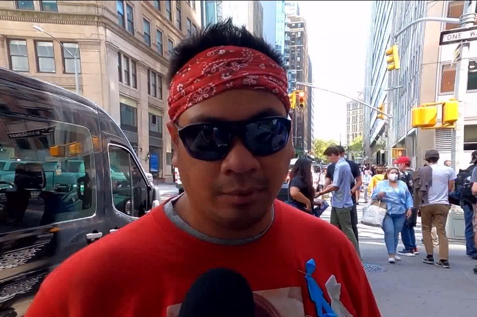 Raymond Santillan, brother of 9/11 victim Maria Theresa Santilla.
