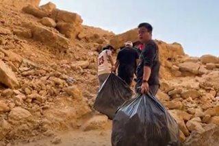 Pinoy vloggers, naglunsad ng clean-up drive sa Riyadh