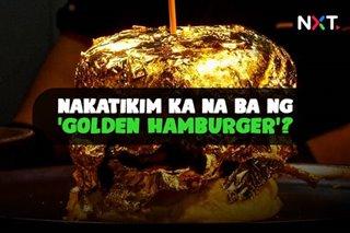 Nakatikim ka na ba ng 'golden hamburger'?