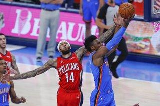 NBA: Pelicans show balanced scoring in routing Thunder
