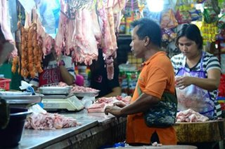 Pork, chicken prices rise as supplies fall in Luzon