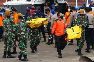 Remains recovered from ill-fated Indonesian plane
