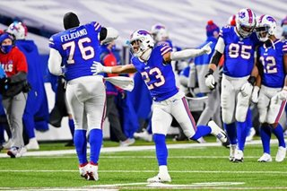 NFL: Bills ride defense past Ravens, advance to AFC championship
