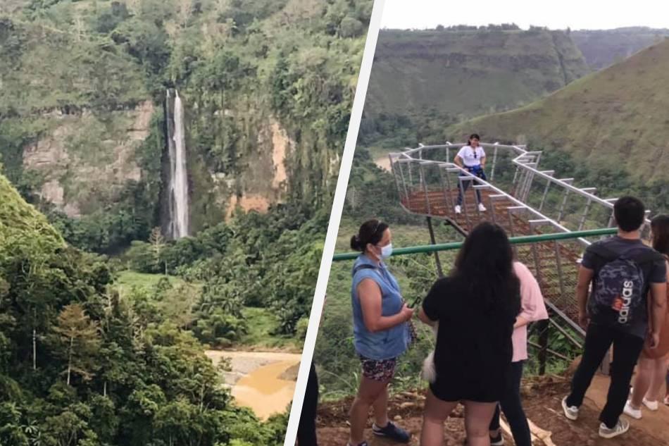 Sunflower farm at overlooking view sa water falls, patok na pasyalan sa Bukidnon 2